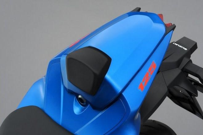 Duozit kap GSX-S / GSX-R 125 blauw