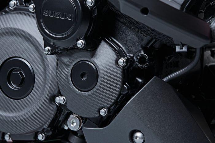 Krukasdeksel cover carbon GSX-S1000(S/F)