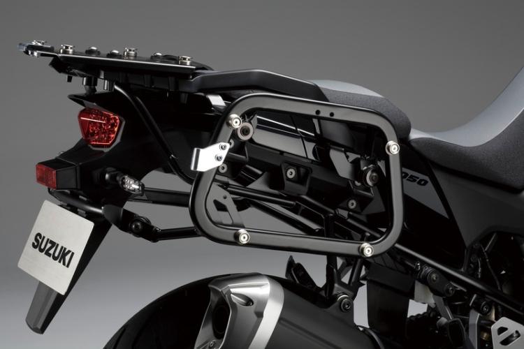 Bracket aluminium zijkoffers