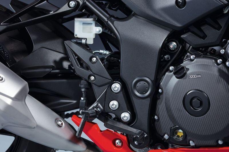 Frame protectie sticker zwart GSX-S750