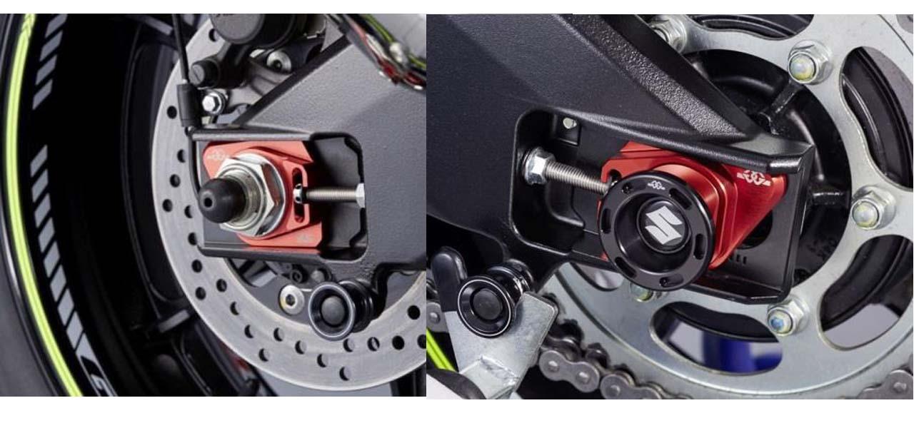 Valdop as achterwiel GSX-R1000