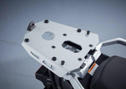 Adapterplaat, tbv topk 55L V-Strom 650