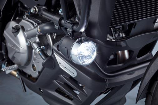 DL650 LED Mistlamp set, L7~