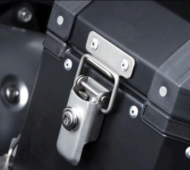Lock set 4st. tbv Zijkoffers DL