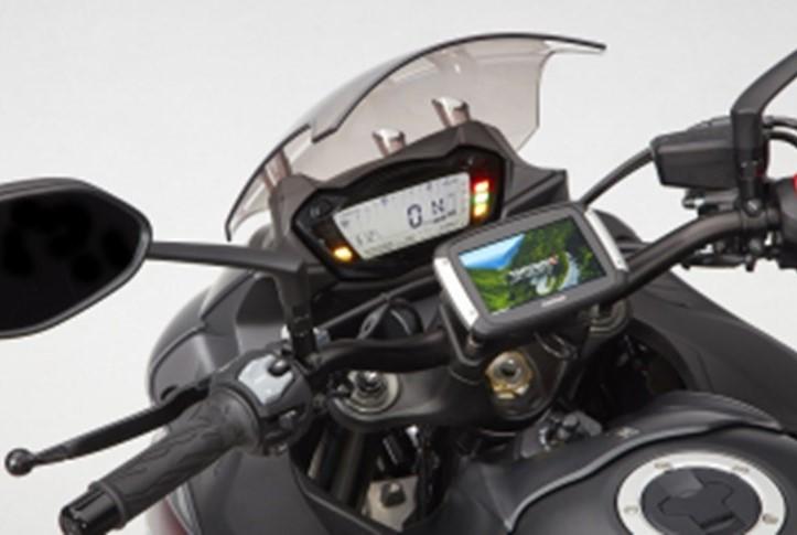 GPS-Houder op stuur GSX-S1000
